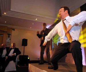 Office dance show Brent
