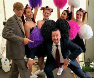 Office lookalikes cheerleaders