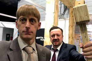 Gareth and David brent  trade show and exhibitions